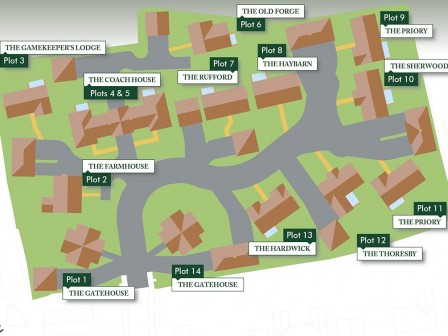 Site Plan - Trinity, Finningley